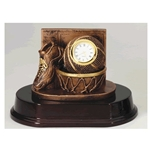 Basketball Clock Trophies