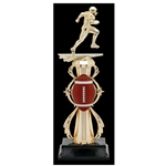 Football Fully Assembled Trophies