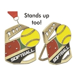 Softball Cobra Medals
