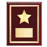 Star Rosewood Plaques