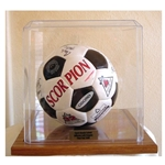 Acrylic Soccer Ball Holder