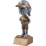 Female Coach Bobblehead Trophies