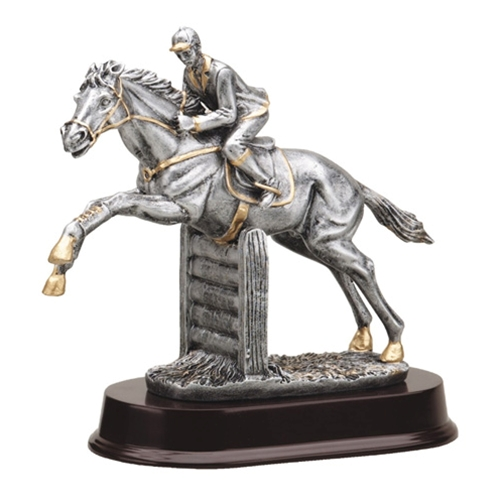 Jumping Horse Trophies