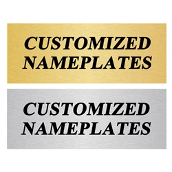 Custom Name Plates | Trophy Plates