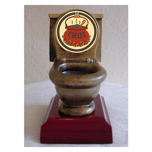 Chili Toilet Trophies
