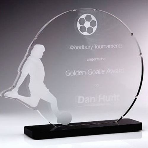 soccer acrylic awards