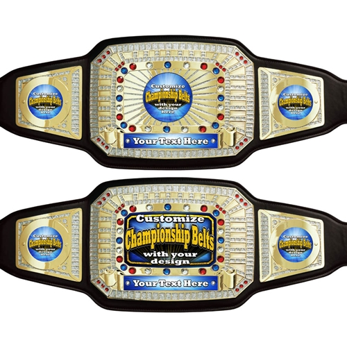 create your own custom champion award belts
