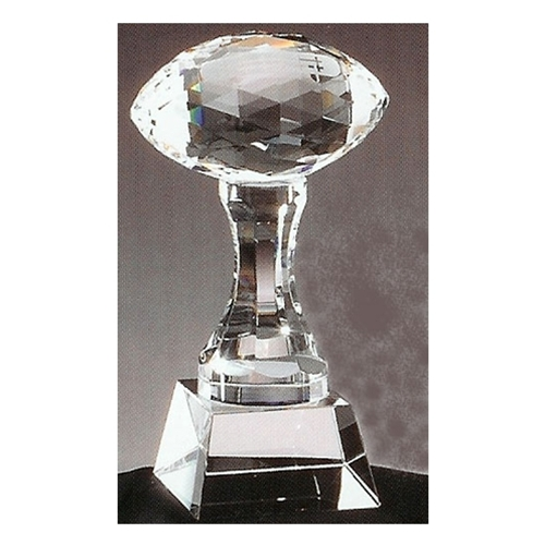 Crystal Football Trophies