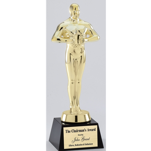 oscar replica trophy