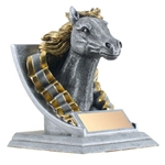 Mustang Mascot Trophies