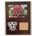 Soccer Themed Photo Plaques