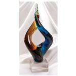 Teamwork Twisted Glass Art Awards