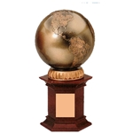 World Globe Trophy Set