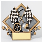 Racing Diamond Plate Trophies