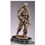"Military Issue Army Trophies 13"" Size"