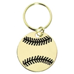 Baseball Brass Key Chain Medals