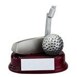 Silver Golf Putter Trophies