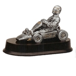 Go Kart Racing Resin Trophy