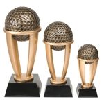Golf Tower Resin Trophies