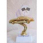 "8"" Car Diamondback Racing Trophy"
