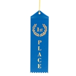 "2x8"" Blue 1st Place Ribbons"