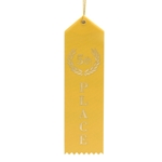 "2x8"" Yellow 5th Place Ribbons"