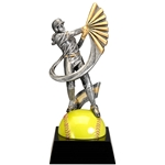 Female Softball Motion Extreme Trophies