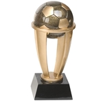 "10.75"" Soccer Tower Trophy"