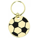 Soccer Brass Key Chains