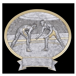 Wrestling Sports Legend Plaque Trophies