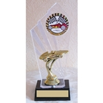 "8"" Pinewood Derby Car Diamondback Trophies"