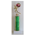 "13.5"" Excellence Series Column Trophy with CHOICE OF FIGURE"