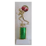"10.5"" Excellence Series Column Trophy with CHOICE OF FIGURE"