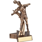 Male Soccer Super Star Trophy