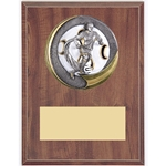Female Soccer Motion Extreme Plaque