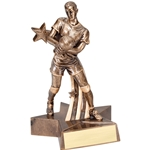 Male Volleyball Super Star Trophies