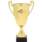 Gold Or Silver Trophy Cups with Design Band