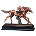 Large Horse Jockey Trophies