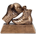 Boxing Glove & Shoe Trophy