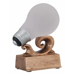 "Light Bulb ""Bright Idea"" Trophy"
