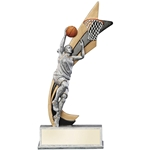 Female Basketball Live Action Trophies