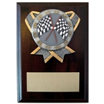 Racing Ribbon Holder Plaques