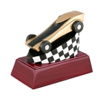 Pinewood Derby Resin Trophies