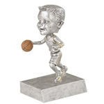 Male Basketball Rock n' Bop Bobblehead Trophies