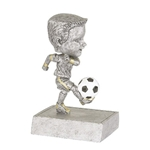 Male Soccer Rock n' Bop Bobblehead Trophies