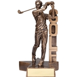 Golf Male Billboard Trophies