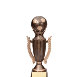 Soccer Crown Trophies - Small & Medium