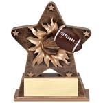 Football Starburst Trophies