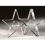 Star Paperweight Acrylic Awards