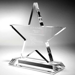 Gemini Star Acrylic Awards